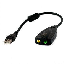 Внешняя звуковая карта Extradigital USB Sound card 3D 0.2m