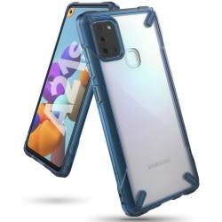 Чехол Ringke Fusion X для Samsung Galaxy A21s SPACE BLUE (RCS4838)