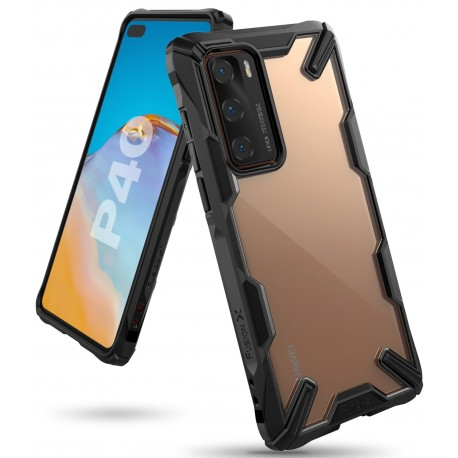 Чехол Ringke Fusion X для Huawei P40 BLACK (RCH4841)