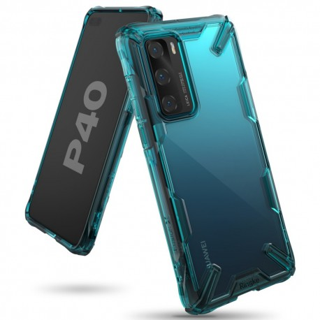 Чехол Ringke Fusion X для Huawei P40 TURQUOISE GREEN (RCH4842)