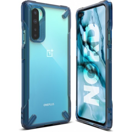Чехол Ringke Fusion X для OnePlus Nord SPACE BLUE (RCH4849)