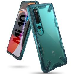 Чехол Ringke Fusion X для Xiaomi Mi / Xiaomi Mi10 Pro TURQUOISE GREEN (RCX4853)