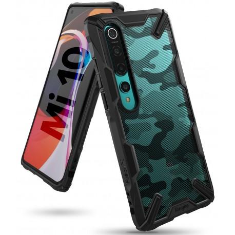 Чехол Ringke Fusion X DESIGN для Xiaomi Mi / Xiaomi Mi10 Pro CAMO BLACK (RCX4854)