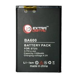 Аккумулятор для Sony Ericsson BA600 (1320 mAh) - BMS6344