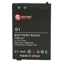 Аккумулятор для HTC Google G1 (1000 mAh) - DV00DV6082