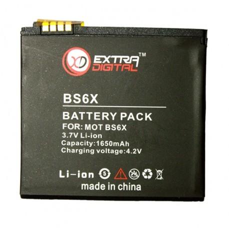 Аккумулятор для Motorola BS6X (1650 mAh) - DV00DV6134