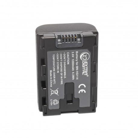 Аккумулятор JVC BN-VG114 (chip)