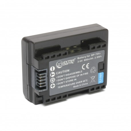 Аккумулятор Canon BP-709 (chip)