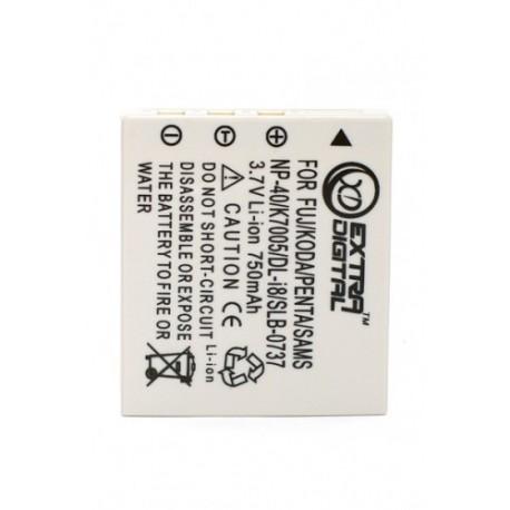 Аккумулятор Fuji NP-40, KLIC-7005, D-Li8/ Li-18, Samsung SB-L0737