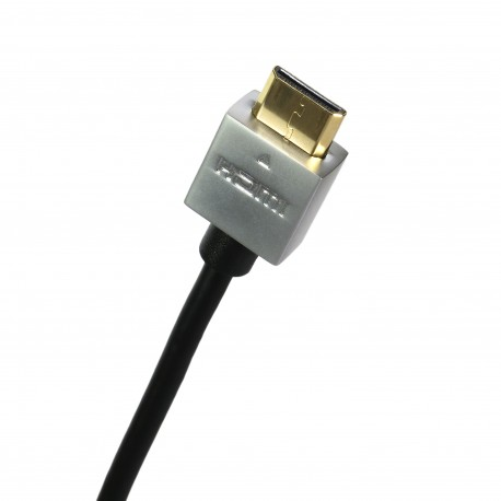 Extradigital mini HDMI to HDMI, 0.5m, v1.4b, 36 AWG, Gold, PVC, Ultra-Slim