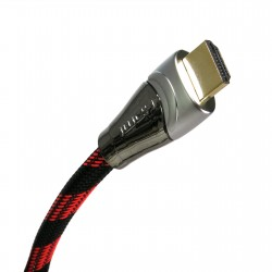 Extradigital HDMI to HDMI, 3m, v1.4b, 30 AWG, Gold, Nylon, 2xFerrites
