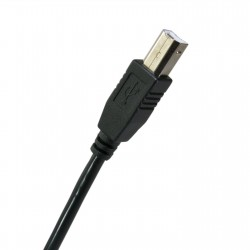 Extradigital USB 2.0 AM / BM, 5m, 26 AWG, One Ferrite