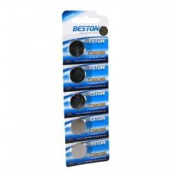 Батарейка Beston CR-2025 160mAh Lithium, 5шт