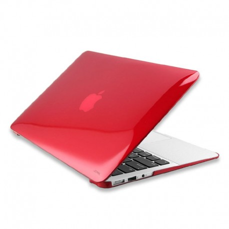 Чехол JCPAL Ultra-thin для MacBook Air 13 (Matte Cherry Red)