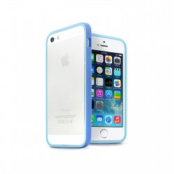Бампер JCPAL Anti-shock Bumper 3 in 1 для iPhone 5S/5 Set-Blue
