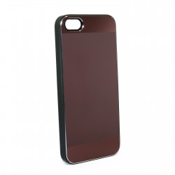 Чехол JCPAL Aluminium дляApple iPhone 5, 5s, SE (Matte touch-Brown)
