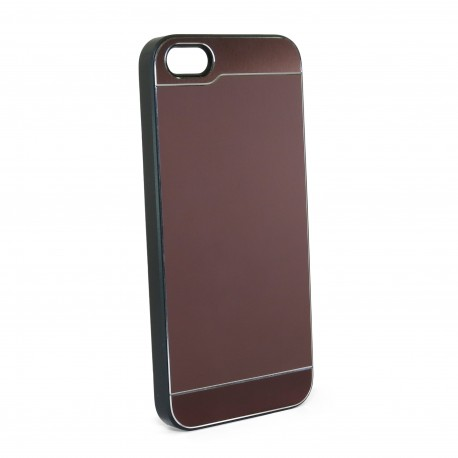 Чехол JCPAL Aluminium для iPhone 5S/5 (Smooth touch-Brown)