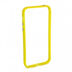 Бампер JCPAL Colorful 3 in 1 для iPhone 5S/5 Set-Yellow