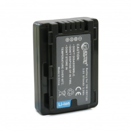 Аккумулятор Extradigital для Panasonic VW-VBY100