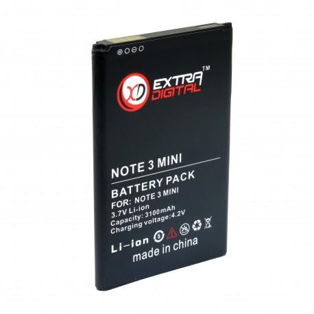 Аккумулятор Extradigital для Samsung Galaxy NOTE 3 mini
