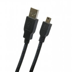 Extradigital USB 2.0 AM / mini USB B, 0.5m, 28 AWG, Hi-Speed