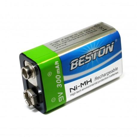 Аккумулятор Beston CR-9V 300mAh Ni-MH