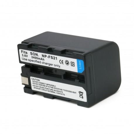 Аккумулятор для Sony NP-FS21, Li-ion, 2400 mAh