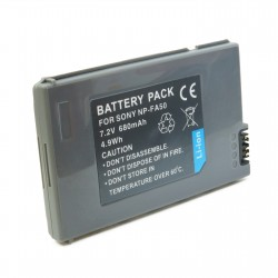 Аккумулятор для Sony NP-FA50, Li-ion, 680 mAh