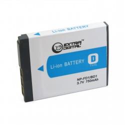 Аккумулятор для Sony NP-BD1, Li-ion, 750 mAh (BDS2644)