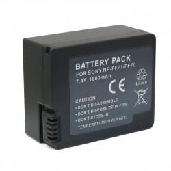 Аккумулятор для Sony NP-FF70, Li-ion, 1800 mAh