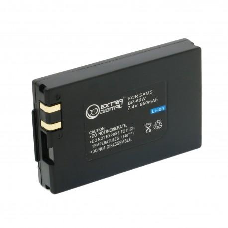 Аккумулятор для Samsung IA-BP80W, Li-ion, 950 mAh (BDS2612)