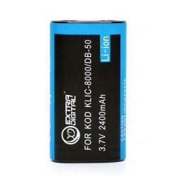Аккумулятор Kodak KLIC-8000, Ricoh DB-50