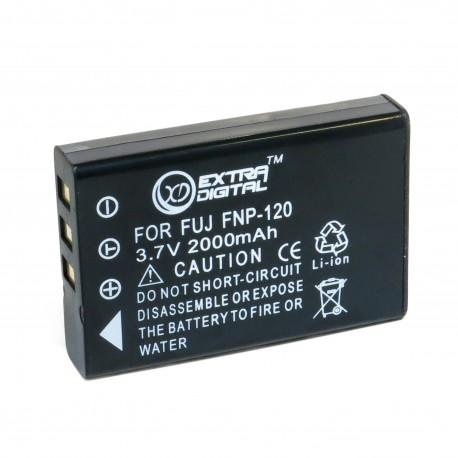 Аккумулятор для FujiFilm NP-120, Li-ion, 2000 mAh (BDF2464)
