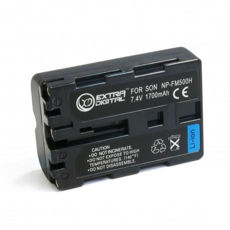Аккумулятор для Sony NP-FM500H, Li-ion, 1700 mAh (BDS2664)