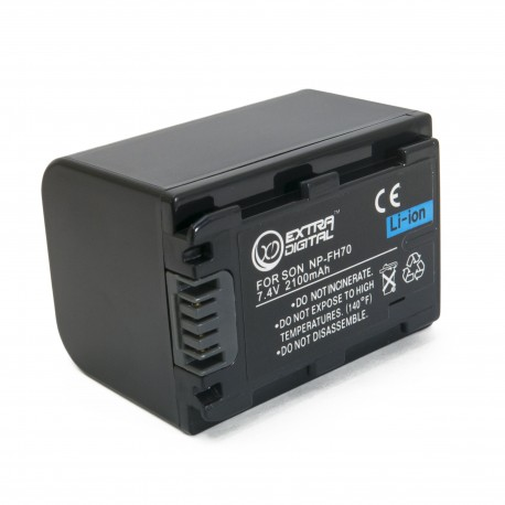 Аккумулятор для Sony NP-FH70, Li-ion, 2100 mAh (BDS2661)