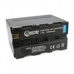 Аккумулятор для Sony NP-F970, Li-ion, 6600 mAh (BDS2652)