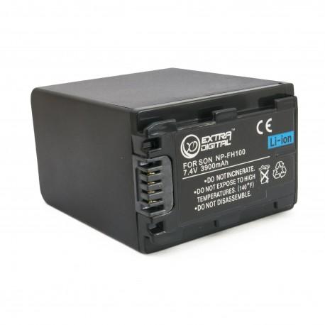 Аккумулятор для Sony NP-FH100, Li-ion, 3900 mAh