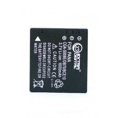 Аккумулятор Panasonic CGA-S008, Ricoh DB-70