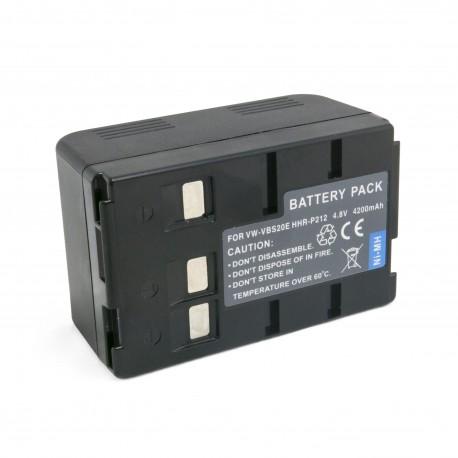 Аккумулятор для Panasonic VW-VBS20E, Ni-MH, 4200 mAh