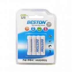 Аккумулятор Beston AAA 1100 mAh Ni-MH, 4 шт