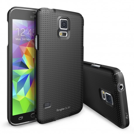 Чехол Ringke Slim для Samsung Galaxy S5 (Dot SF Black)