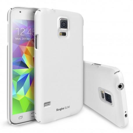 Чехол Ringke Slim для Samsung Galaxy S5 (Dot Pearl White)