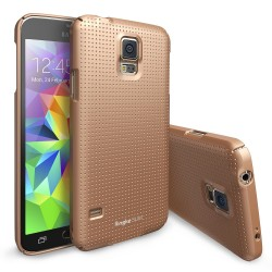 Чехол Ringke Slim для Samsung Galaxy S5 (Dot Copper Gold)