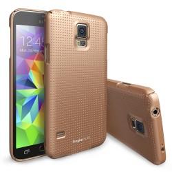 Чехол Ringke Slim для Samsung Galaxy S5 (Dot Copper Gold)