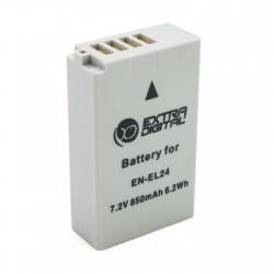 Аккумулятор для Nikon EN-EL24, Li-ion, 850 mAh (BDN2688)
