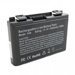 Аккумулятор для ноутбуков Asus K40 (A32-F82) 5200 mAh