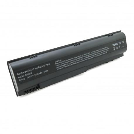 Аккумулятор для ноутбуков HP Pavilion dv1000 (HSTNN-UB17) 5200 mAh
