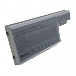 Аккумулятор для ноутбуков Dell Latitude D820, 5200 mAh