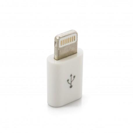Адаптер Extradigital micro USB - Lightning