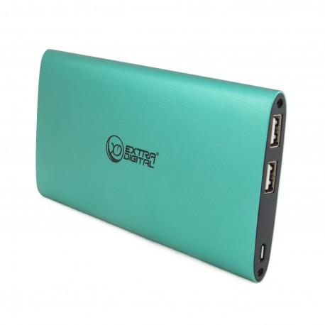 Мобильный аккумулятор Extradigital YN-034L Green (10 000 mAh)